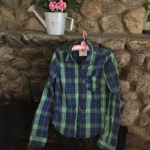 Abercrombie long sleeve small excellent condition
